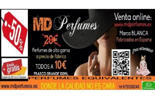 Perfume equivalente UNISEX Nº431.231 EAU DE COUREGIS  100ml  10€