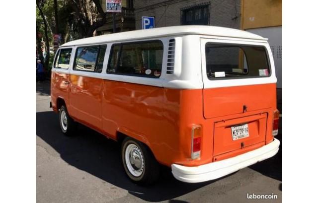 VW Combi T2 9 places 1980