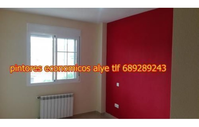 Pintores economicos en SESEÑA 689 289 243 alye ESPAÑOLES