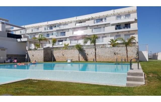 Appartement avec piscine et vue sur la mer à Villamartin, Orihuela Costa.